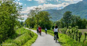 Prov So, Valtellina, Sentiero lungo l'Adda
